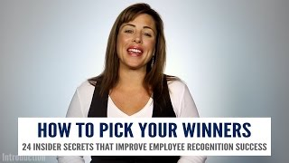 Criteria For Picking Your Employee Of The Month Winners