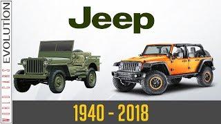 W.C.E - Jeep Evolution  (1940 - 2018)