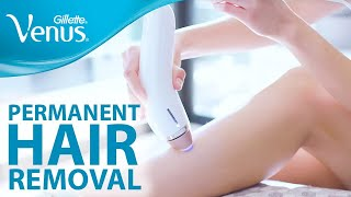 Permanent Hair Removal At Home: Hair Removal Tips | Gillette Venus