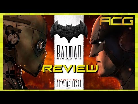 Batman: The Telltale Series Episode 5 Review City of Light & Season Review - YouTube video thumbnail