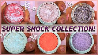 I'm in luv | Colourpop Super Shock Collection | Swatches + Close ups!
