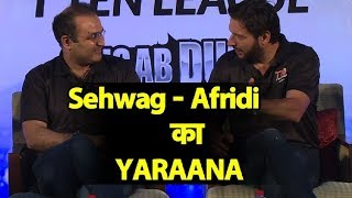 EXCLUSIVE: Shahid Afridi Says I was a Fan of Sehwag's Batting, Share Indo-Pak Tales