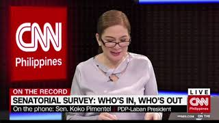 On the Record: Senatorial survey: Who