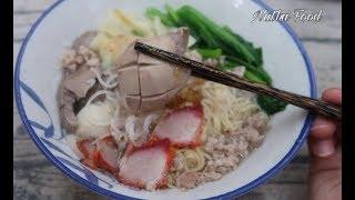 Hủ tiếu mì người Hoa, bật mí cách nấu ngon như ngoài tiệm ||Vietnamese noodle||  Natha Food