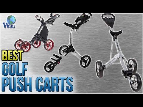 10 Best Golf Push Carts 2018
