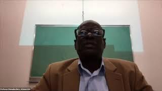 CCME Webinar : Mot d'Ouverture du Professeur Baro, Arizona, USA