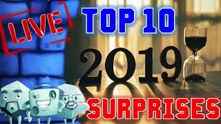 Top 10 Surprises of 2019