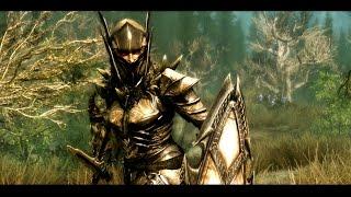 Skyrim: Броня Рыцаря-Дракона (Dragon Knight Armor)