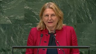 The Most Surprising Moment at UNGA? An Austrian Minister speaking in Arabic