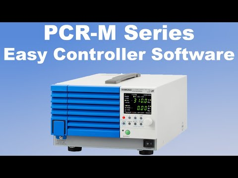 Video of Free Software easy controller for PCR-M Series