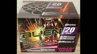 Weco Alien - kleine süße Batterie