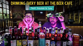 Can They Finish Every Beer At Beer Cafe?   Feat. Kanishk And Josh   Ok Tested