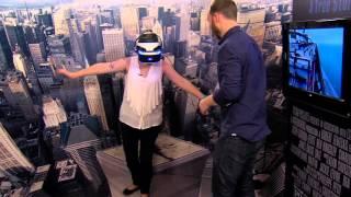 The Walk PlayStation VR Simulation