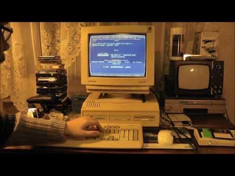 Интернет с XT 8086 (Amstrad PC2086)