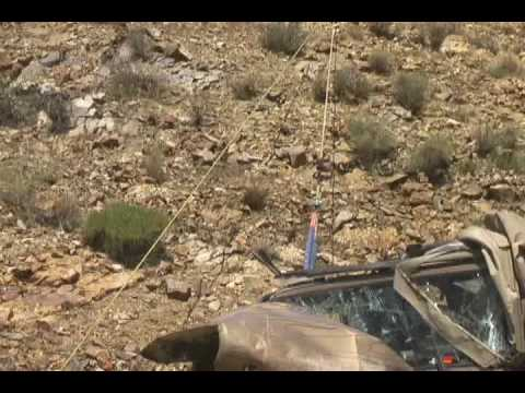 JEEP Roll Over On Dinero - 4x4 Offroad Dangers