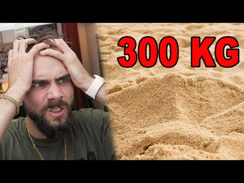 PRÍŠERNÝ ŽIVOT V 300 KG PIESKU