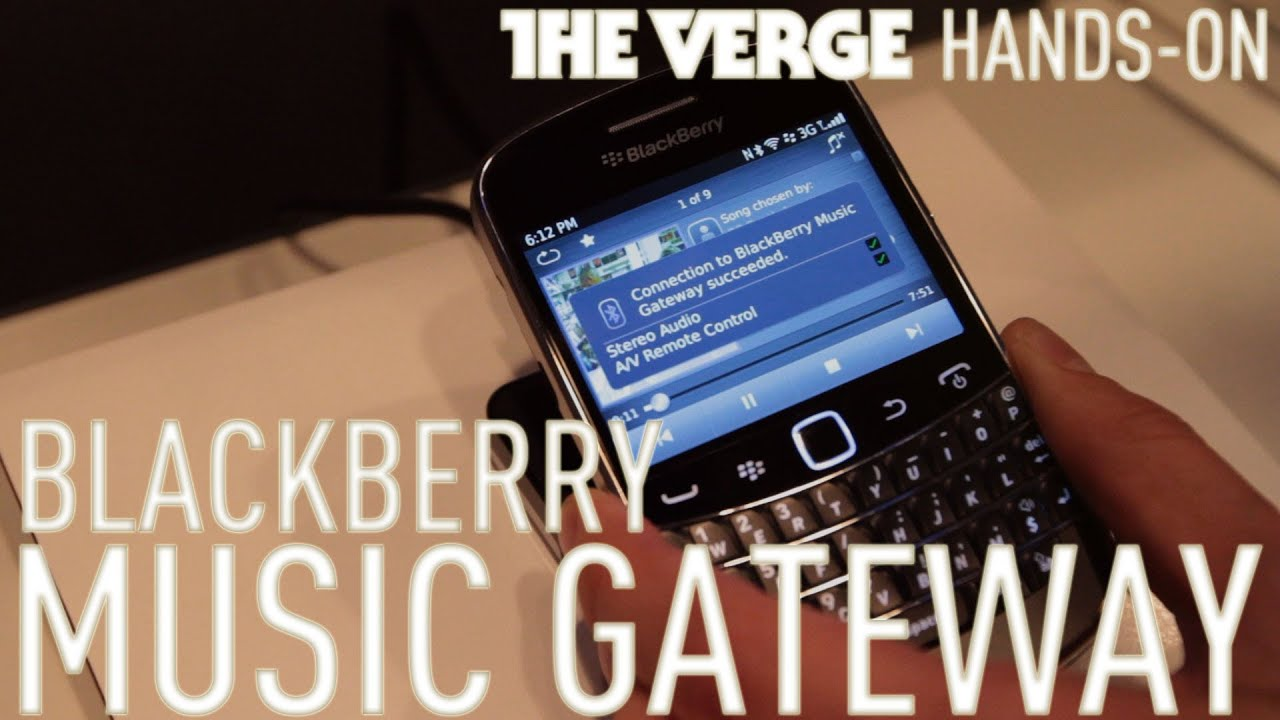 Blackberry Music Gateway hands-on thumbnail