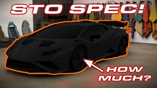 MY STO SPEC! * Ordering the Lamborghini Huracan STO * Super Trofeo Omologato by DragTimes