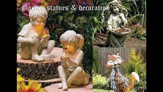 Garden Statues And Decoration