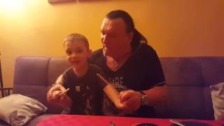 Курбан с внуком зажигают