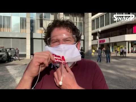 Ato em defesa da vida em São Paulo denuncia desmandos de Covas, Doria e reforça o #ForaBolsonaro