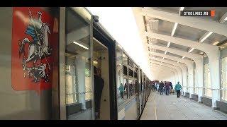 Филевская линия метро: новые  платформы станций «Фили» и «Студенческая»