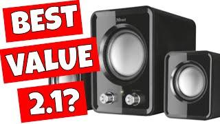 CHEAPEST USB Powered 2.1 Desktop Speakers TRUST ZIVA Only £10