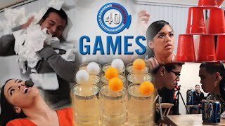 Minute to Win It Games: The 40 Greatest Party Games (PART 1)