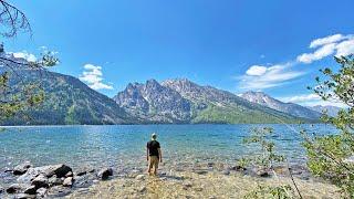 Exploring Grand Teton National Park | Hiking, Moose, Boondocking