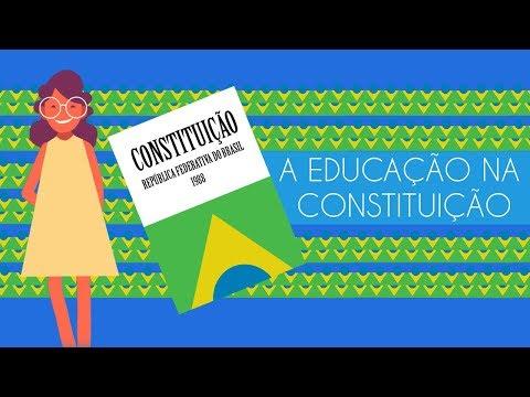A educação na Constituição