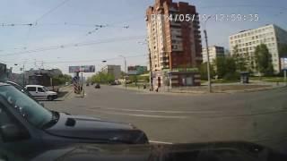 ДТП на Патруле, BMW X5 дорогу решил перебежать