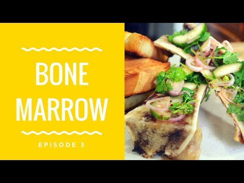 The Ultimate Bone Marrow Recipe- How to make Roasted Bone Marrow with Pickled Salad
