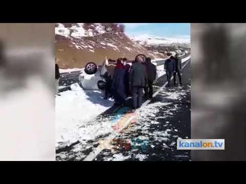 Konya'da kontrolden çıkan otomobil devrildi: 1 yaralı