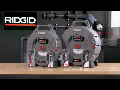 Introducing RIDGID FlexShaft Drain Cleaning Machines