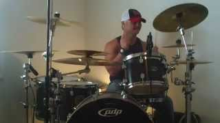 TICKET TO HEAVEN - 3 DOORS DOWN - DRUM COVER BY BRUCE DRUEY