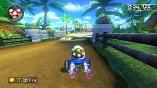 DS Cheep Cheep Beach - 1:44.591 - ☆Twi☆ (Mario Kart 8 World Record)