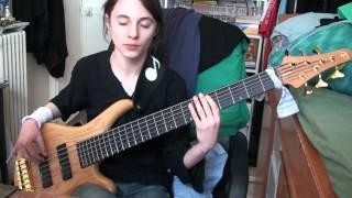 Jacques Berlioux bass cover Children of the Dead Lake by Adagio