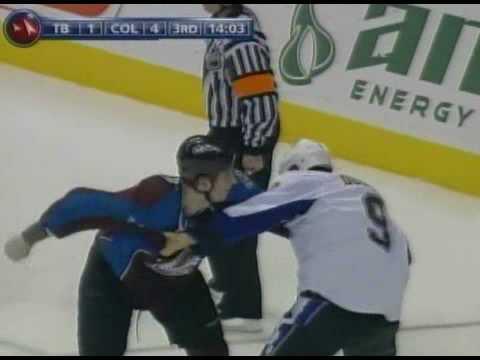 Cody McLeod vs. Steve Downie