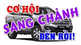 Xe đa dụng SUV & MPV ồ ạt giảm giá tranh khách của các dòng xe Sedan & Hatchback giá rẻ