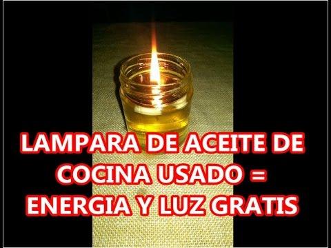 LUZ GRATIS LAMPARA DE ACEITE USADO