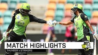Taylor, Kaur lead Thunder to consecutive wins | Rebel WBBL|04