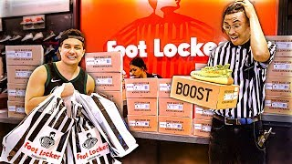 I Bought EVERY Pair of Yeezys and Gave Them to Footlocker Employees!!
