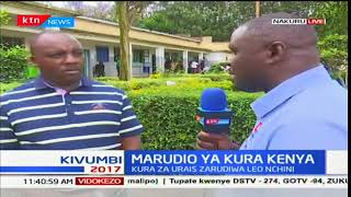 Nakuru residents maintain peace as they vote for their next president