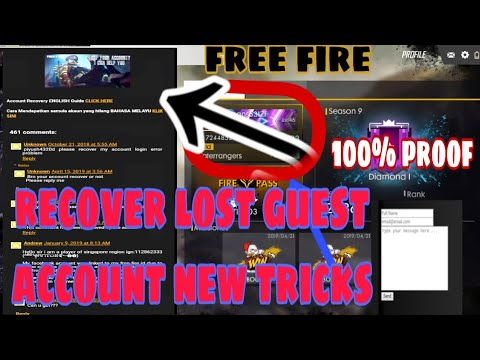 How to recover/get back/unbanned suspended Free Fire Account in
