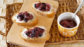 Easy No-Cook Chia Berry Jam (Gluten-Free Vegan Recipe to LOSE WEIGHT) チアベリージャムの作り方 – OCHIKERON