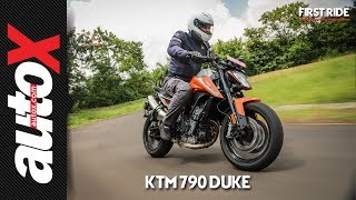 KTM 790 DUKE First Ride Video Review