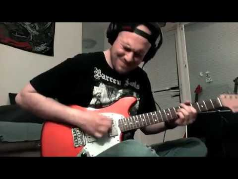 Buckethead - Lebrontron guitar cover.