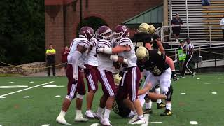 Strong Fourth Quarter Propels Football to Win