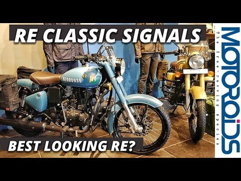 Royal Enfield Classic 350 Signals ABS Walkaround