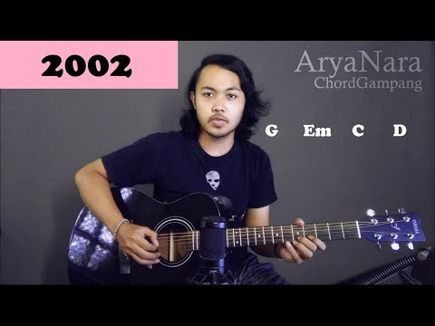 Chord gampang  2002   anne marrie  by arya nara  tutorial gitar  untuk pemula